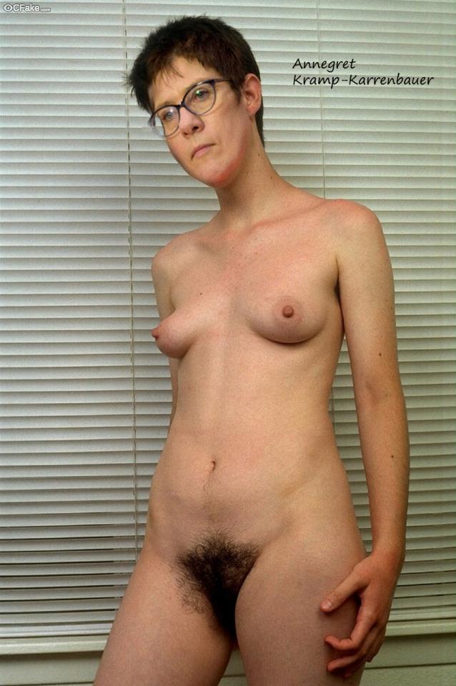 Karrenbauer annette nackt kramp Wieder oben